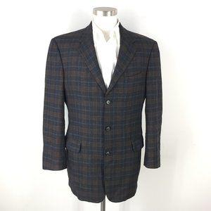 Ermenegildo Zegna Coppley 40 Tall Wool Gray brown